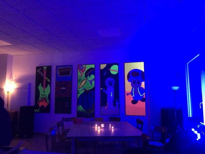 Erstes Pop-Art Kunstprojekt im Jugendhaus Selters
