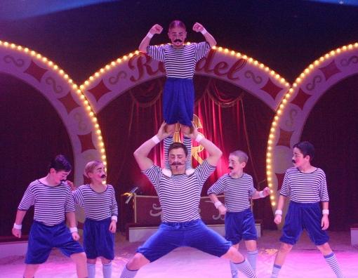 Es gab alles zu sehen, was ein richtiger Zirkus in der Manege zu bieten hat. (Foto: privat)
