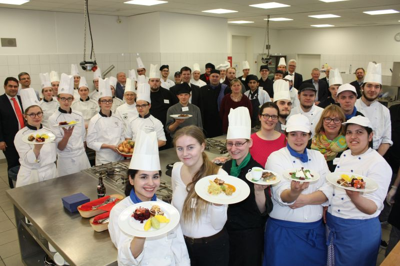 Kulinarischer Frankreichaustausch an der BBS Betzdorf-Kirchen