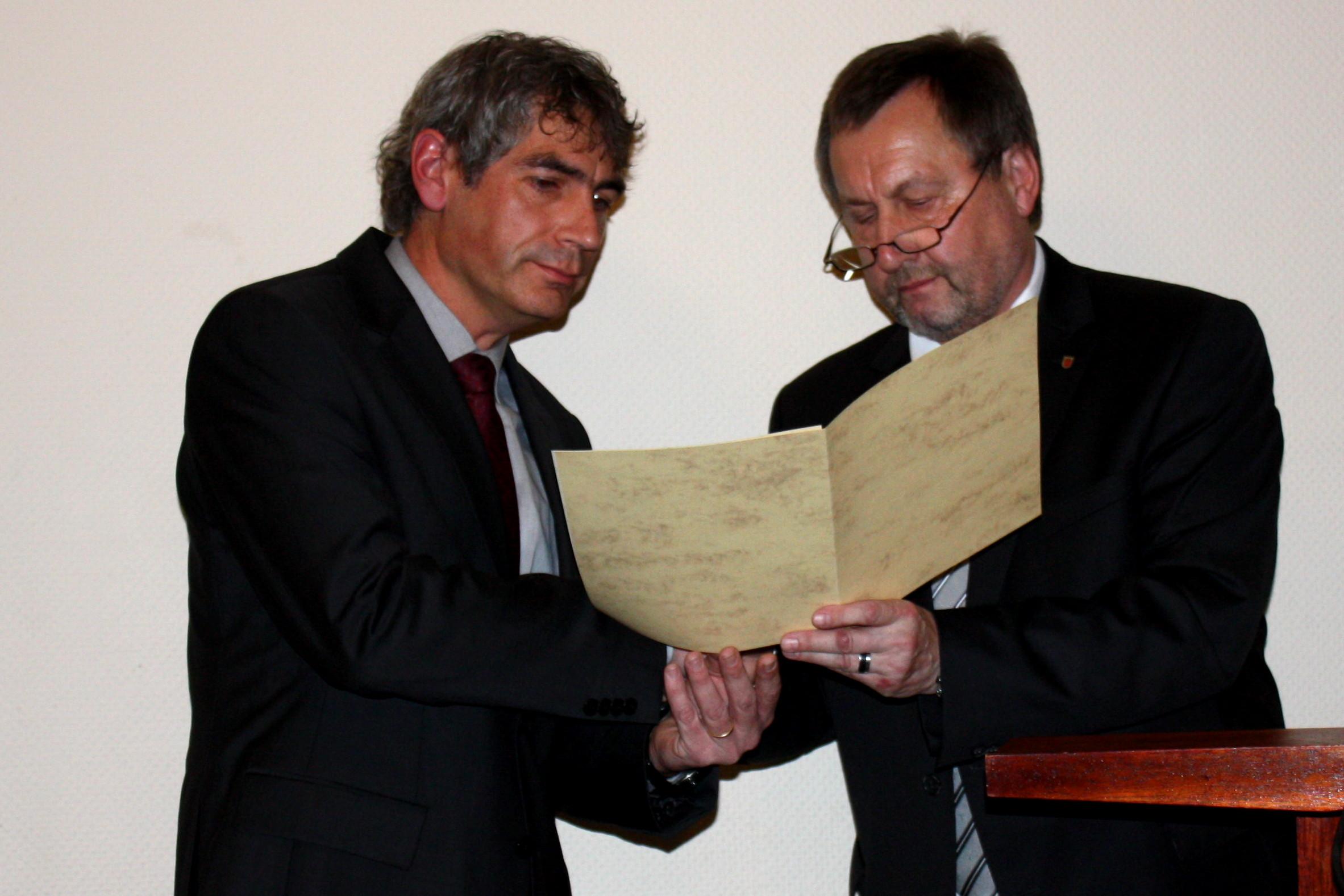 Eine Ära geht zu Ende: Bürgermeisterwechsel der VG Hamm