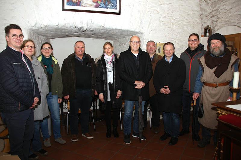 Ortsvorsteher aus der Stadt Neuwied kamen in Heimbach-Weis zusammen