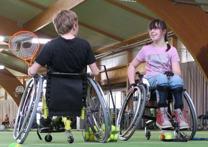 Rollitennis-Aktiv-Wochenende in Windhagen etabliert sich