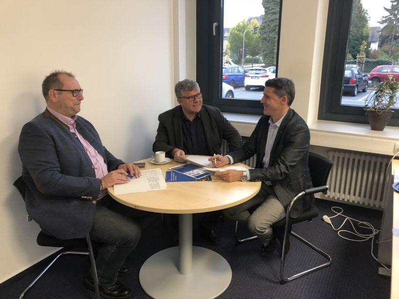 IHK und Landkreis Neuwied intensivieren den Informationsaustausch