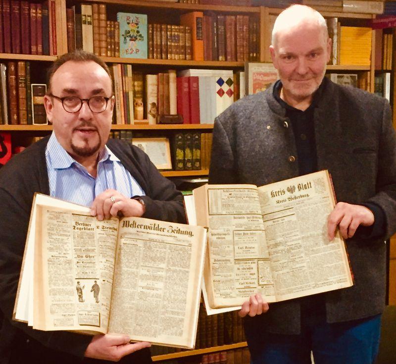 Westerburg erwarb wichtige Quellen zur Westerwälder Geschichte in Rennerod