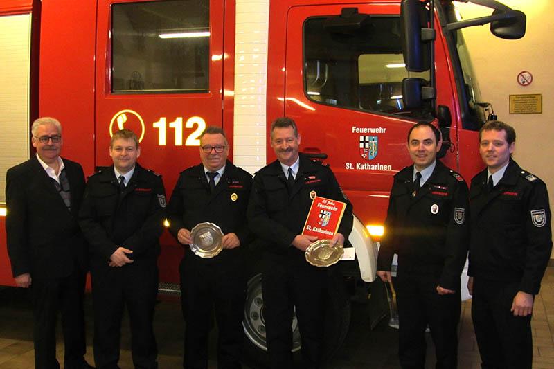 Jahreshauptversammlung Feuerwehr St. Katharinen