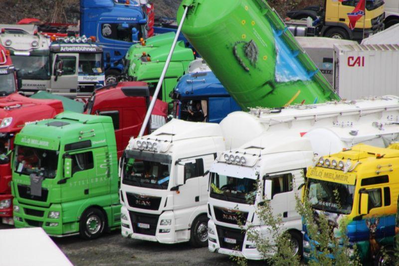 Archivbilder von Trucker-Treffen. Fotos: Veranstalter/Stöffel-Park