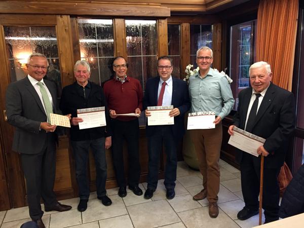Langjährige Mitglieder des CDU-Ortsverbands geehrt