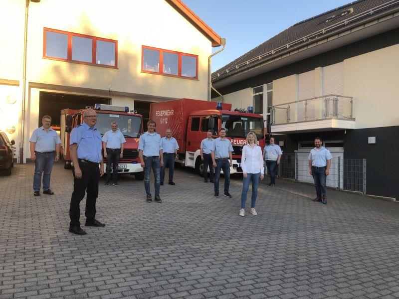 Feuerwehr Haiderbach ist trotz Corona-Einschränkungen voll funktionsfähig