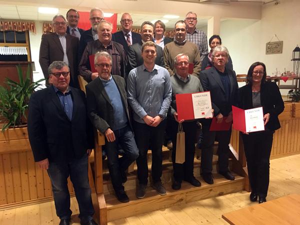 SPD in der VAG Rengsdorf ehrt langjährige Mitglieder