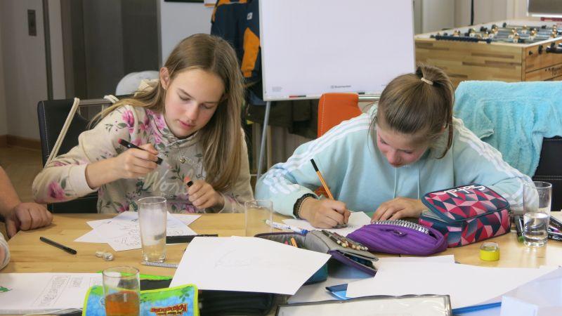 "Cooles ""Comic-Kunstprojekt"" im Jugendhaus Selters"