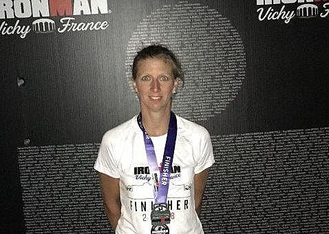 TuS Horhausen: Sonja Schneeloch absolvierte den Vichy-Ironman