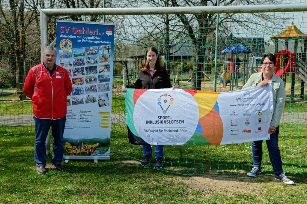Prämie des Landessportbundes an SV Gehlert für Inklusionsarbeit