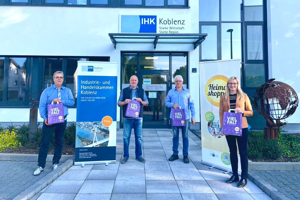 "Lokale Unternehmen stärken – Initiative ""Heimat shoppen"""