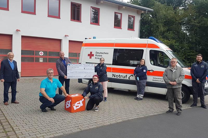 Unterstützung für das Jugend-Rote-Kreuz