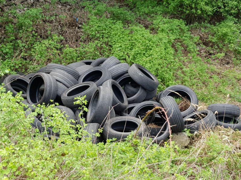 Illegale Abfallablagerung in Nentershausen