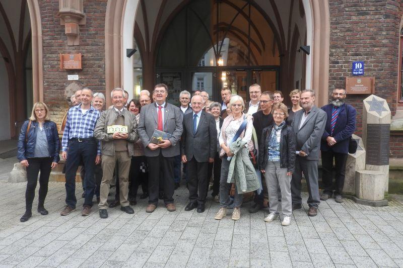 Stadt Montabaur empfing Imker im Rathaus