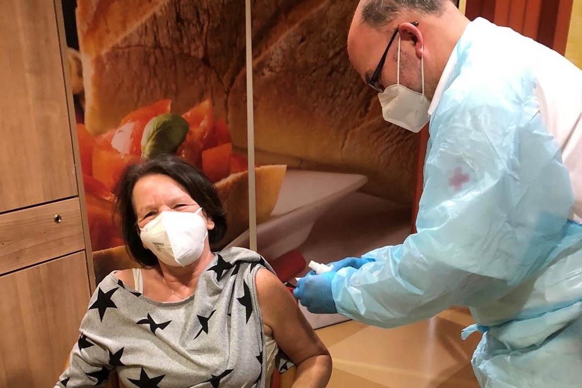 Bewohner der Seniorenheim Dernbach und Puderbach geimpft