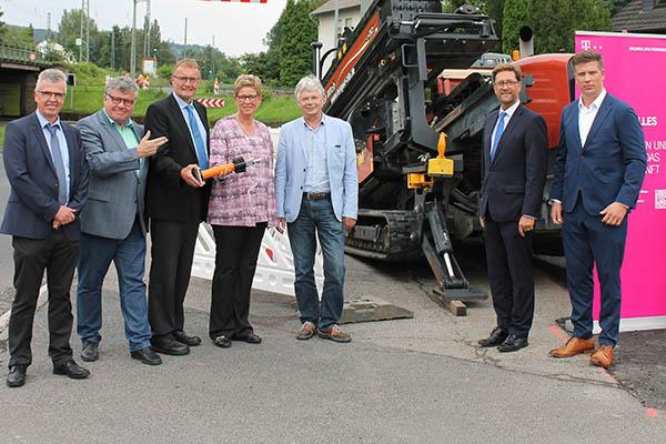 Netzausbau schnelles Internet in Bad Hönningen gestartet