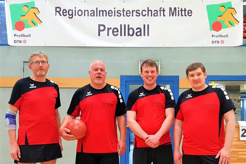 TSG Irlich bei den mitteldeutschen Prellballmeisterschaften