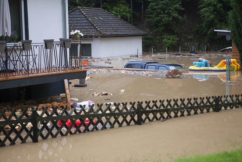 Überschwemmungen wird es immer geben, aber die Schäden können minimiert werden. Archivbilder NR-Kurier