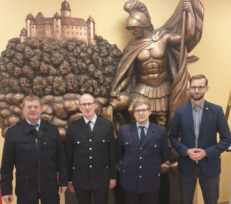 Tristan Ahrens ist Jugendwart der Feuerwehr Oberelbert