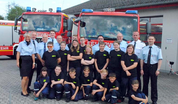 Jugendfeuerwehr in Horhausen gegründet