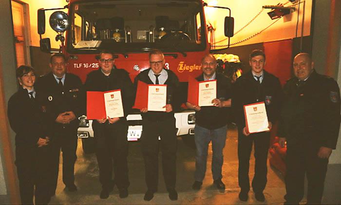 Jahreshauptversammlung des Fördervereins der Freiwilligen Feuerwehr Langenhahn