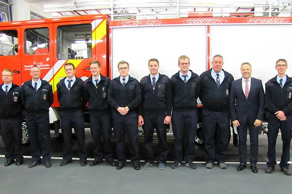 Jahreshauptversammlung der Feuerwehr Kurtscheid