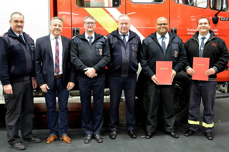 Feuerwehr Kirchspiel Anhausen wählt neuen stellvertretenden Wehrführer
