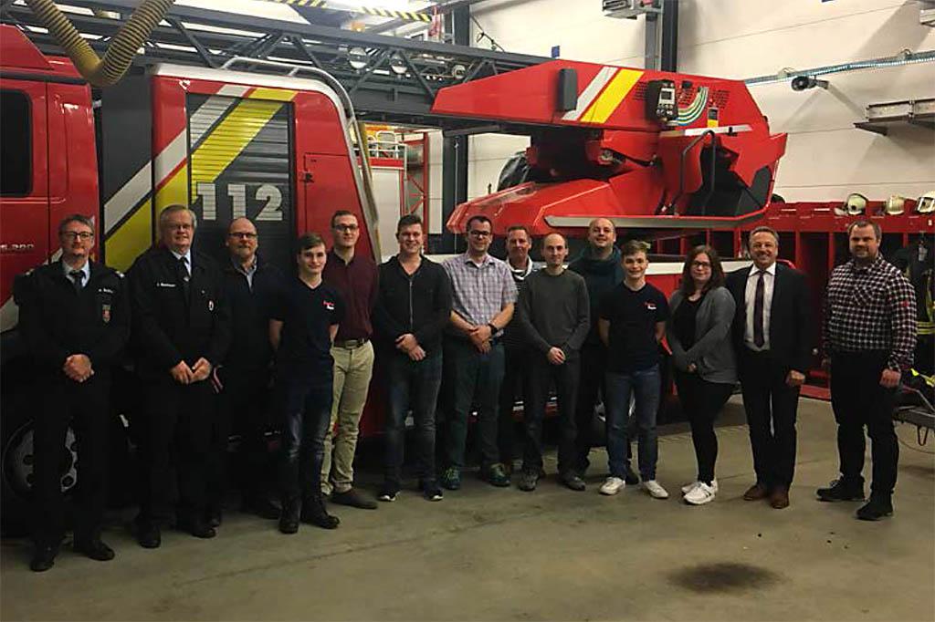 Jahreshauptversammlung der Freiwilligen Feuerwehr Rengsdorf