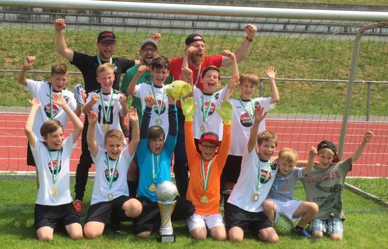 E-Jugend JSG Melsbach/Rengsdorf holt Kreispokal