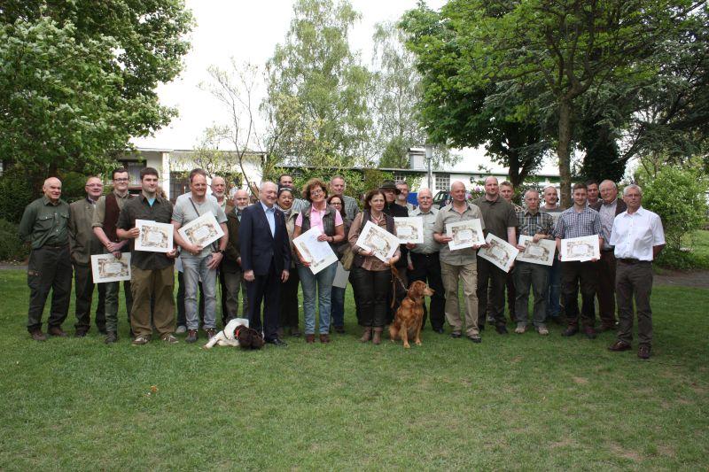 17 Jungjäger aus dem Kreis Altenkirchen erhalten Jägerbrief