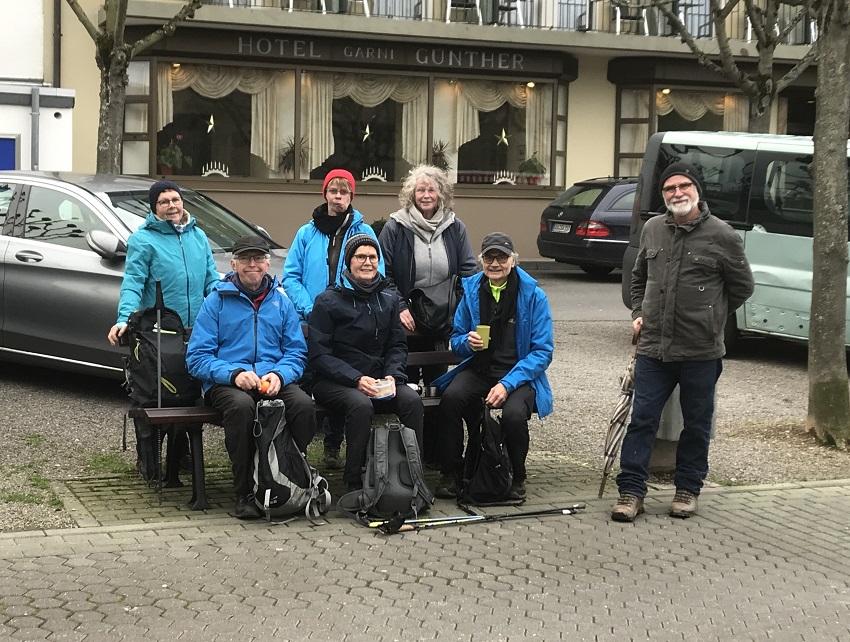DJK jahnschar Mudersbach auf Wanderung