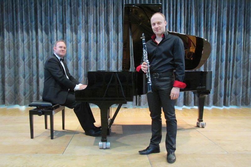 Zeitreise mit Klarinette und Klavier