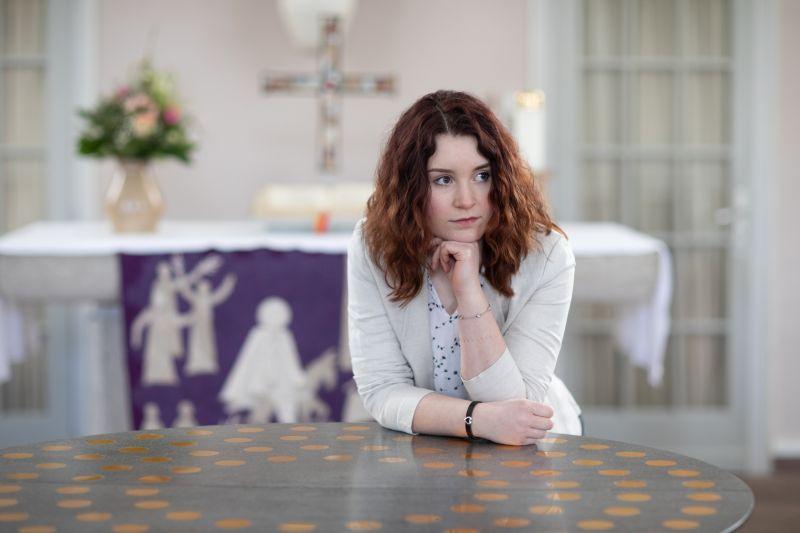 20-Jährige Wällerin wechselt von den Maschinen in die Kirche