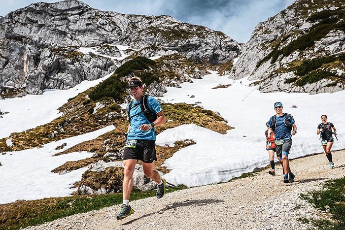 Jendrik Graß vom LT Puderbach finishte Salomon-Zugspitz-Trail