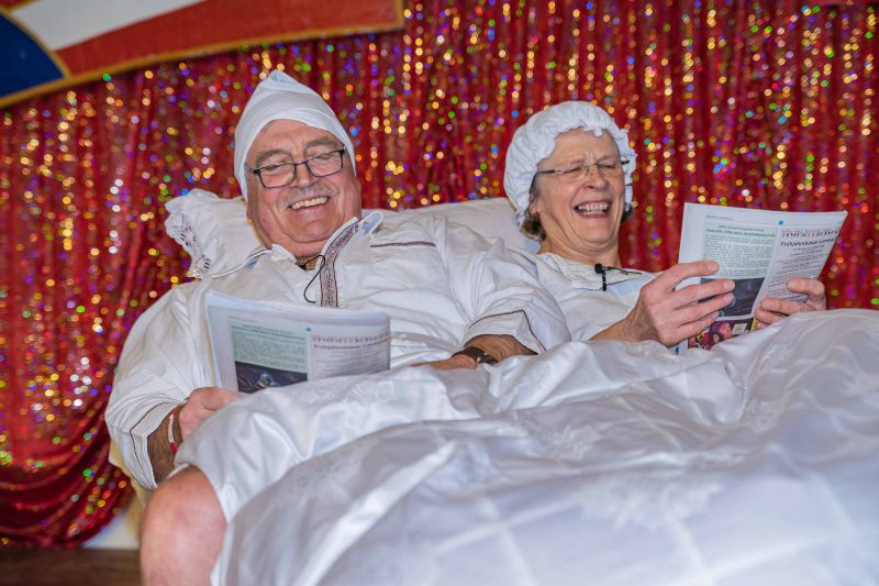 Schwungvolle Karnevalssitzung brachte den Humorpalast in Alpenrod zum Beben