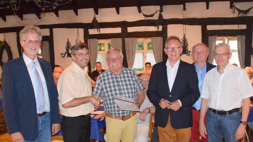 CDU-Stadtverband Betzdorf ehrte Michael Werthebach