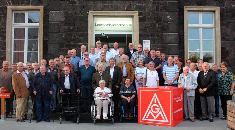 IG Metall ehrt langjährige Mitglieder