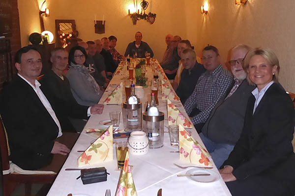 17 Jubilare bei Metsä Tissue im Werk Raubach