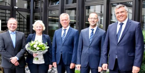 Daadener Volksbank ehrte langj�hrige Mitarbeiter