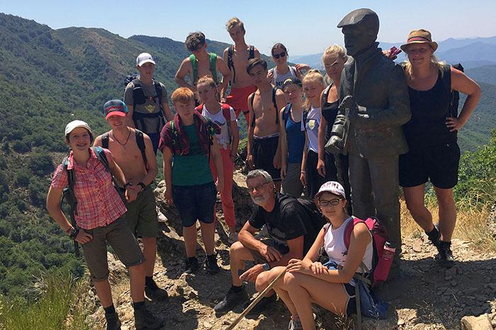 Jugendliche waren mit dem Stadtjugendamt auf Trekking-Tour
