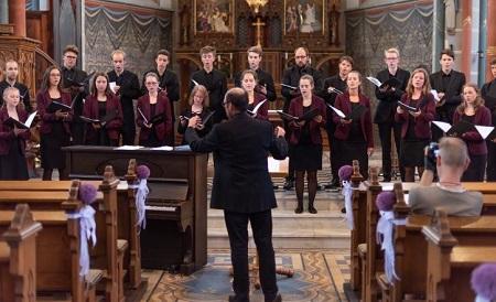 Jugendkammerchor der Singschule Koblenz zu Gast in Kirchen