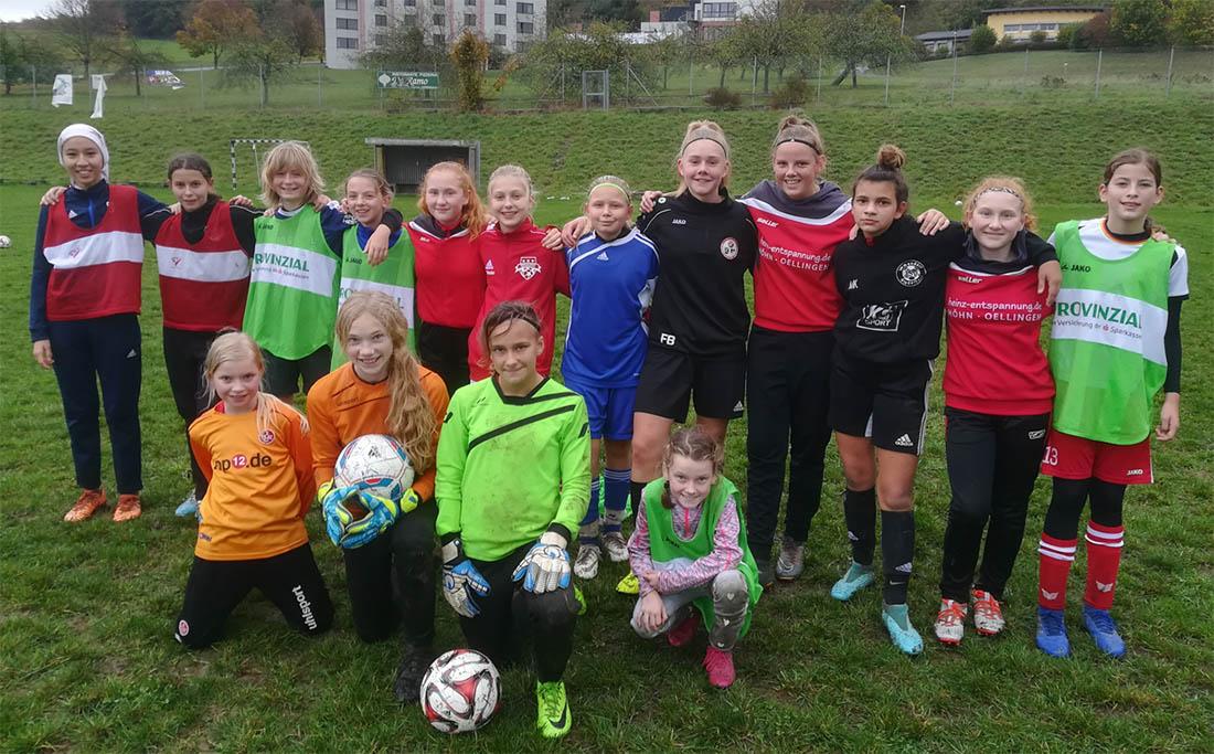 Besonderes Fußballwochenende für talentierte Mädchen