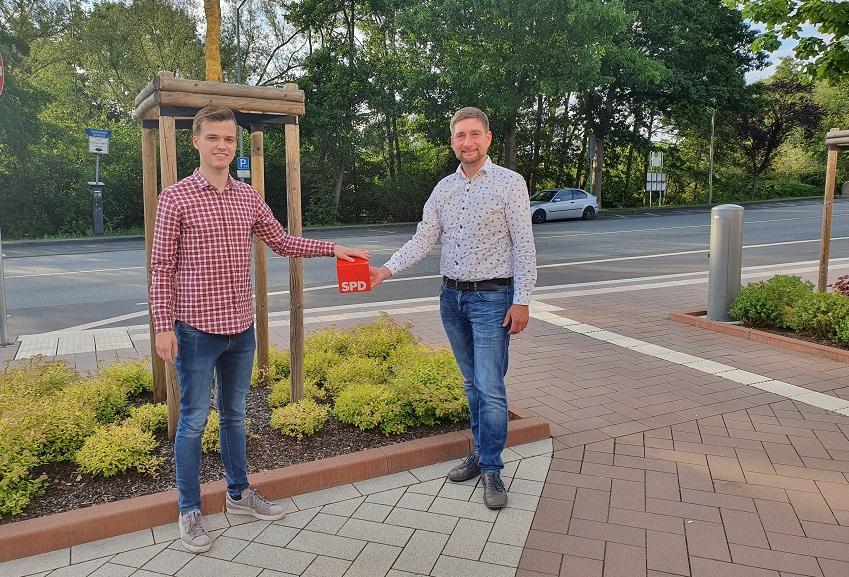 Juso-Rückenwind für Matthias Gibhardts Landtagskandidatur