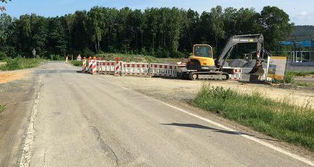K 13 zwischen Hachenburg und Hattert wird teilweise saniert
