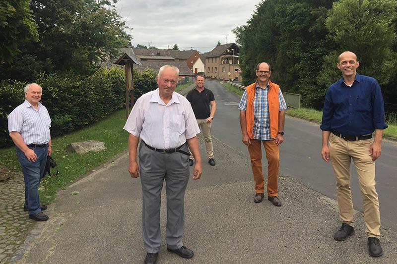 FDP freut sich über den Ausbau der K 58 bei Mendt