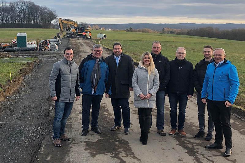 Ausbau der K 64 zwischen Sessenhausen und Altenhofen läuft gut