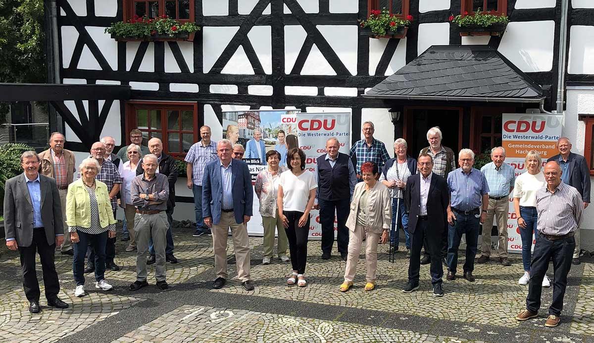 Christdemokraten feiern 50 Jahre CDU-Gemeindeverband Hachenburg