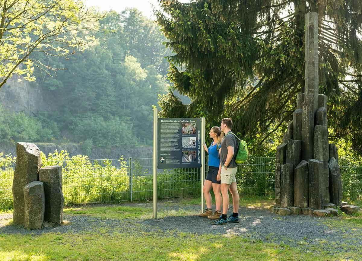 Der Basaltpark Bad Marienberg: Info-Event mit Führung